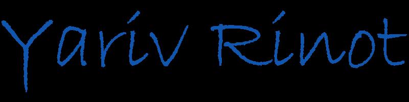 הלוגו של יריב רינות